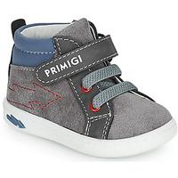Sko Dreng Høje sneakers Primigi BABY LIKE Grå / Blå