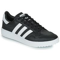 Sko Lave sneakers adidas Originals MODERN 80 EUR COURT Sort / Hvid