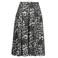 textil Dame Nederdele See U Soon 21232098 Sort / Hvid