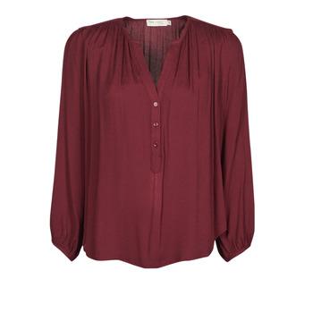 textil Dame Toppe / Bluser See U Soon 21211057 Bordeaux