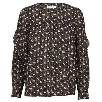 textil Dame Toppe / Bluser See U Soon 21212052 Marineblå