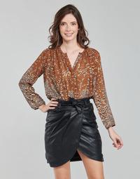 textil Dame Toppe / Bluser See U Soon 21212103 Flerfarvet