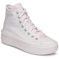 Sko Dame Høje sneakers Converse CHUCK TAYLOR ALL STAR MOVE HYBRID FLORAL HI Hvid