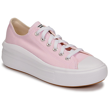 Sko Dame Lave sneakers Converse CHUCK TAYLOR ALL STAR MOVE SEASONAL COLOR OX Pink