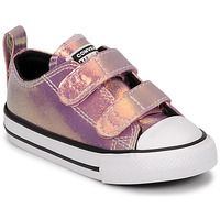 Sko Pige Lave sneakers Converse CHUCK TAYLOR ALL STAR 2V IRIDESCENT GLITTER OX Pink