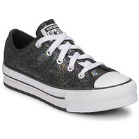 Sko Pige Lave sneakers Converse CHUCK TAYLOR ALL STAR EVA LIFT IRIDESCENT LEATHER OX Sort