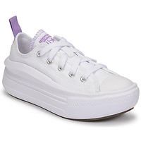 Sko Pige Lave sneakers Converse CHUCK TAYLOR ALL STAR MOVE CANVAS OX Hvid / Pink