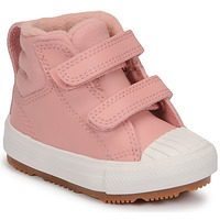 Sko Pige Høje sneakers Converse CHUCK TAYLOR ALL STAR BERKSHIRE BOOT SEASONAL LEATHER HI Pink