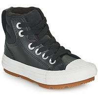 Sko Børn Høje sneakers Converse CHUCK TAYLOR ALL STAR BERKSHIRE BOOT SEASONAL LEATHER HI Sort