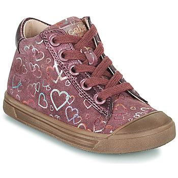 Sko Pige Høje sneakers Acebo's 5533EL-GRANADA Pink