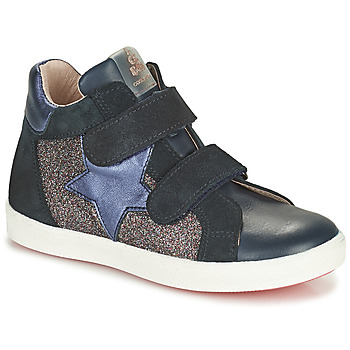 Sko Pige Høje sneakers Acebo's 5541SX-MARINO Marineblå