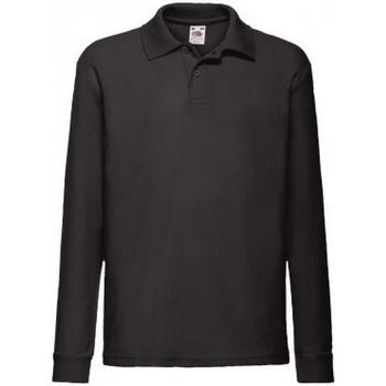 Polo-t-shirts m. lange ærmer Fruit Of The Loom  SS45B