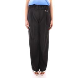 textil Dame Løstsiddende bukser / Haremsbukser Marella PANTS BLACK