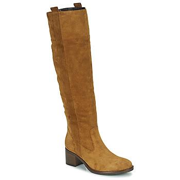 Sko Dame Chikke støvler Gabor 7167914 Cognac