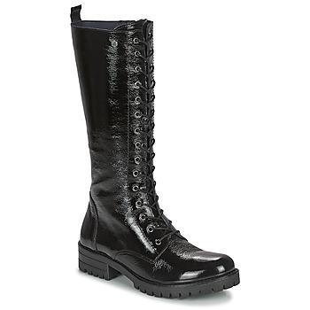 Sko Dame Chikke støvler Dorking WALKING Sort