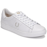 Sko Herre Lave sneakers Fred Perry SPENCER LEATHER Hvid