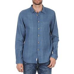 textil Herre Skjorter m. lange ærmer Façonnable JJMCT502000ERE Blå