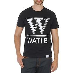 textil Herre T-shirts m. korte ærmer Wati B TEE Sort