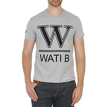 textil Herre T-shirts m. korte ærmer Wati B TEE Grå