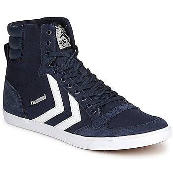 Sko Høje sneakers Hummel TEN STAR HIGH CANVAS Marineblå