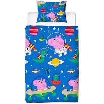Indretning Børn Tæppe Peppa Pig SI166 Blue