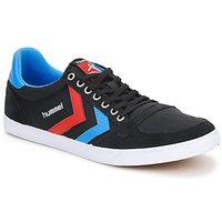 Sko Lave sneakers Hummel TEN STAR LOW CANVAS Sort