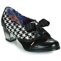 Sko Dame Højhælede sko Irregular Choice CORPORATE BEAUTY Sort / Hvid