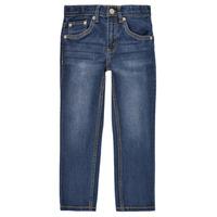 textil Dreng Smalle jeans Levi's 511 SLIM FIT JEANS Blå