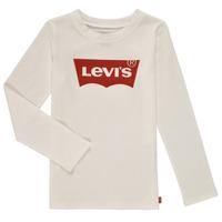 textil Pige Langærmede T-shirts Levi's LS BATWING TEE Hvid