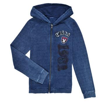 textil Dreng Sweatshirts Guess TRAMI Blå