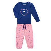 textil Pige Sæt Guess ANISSA Pink / Blå