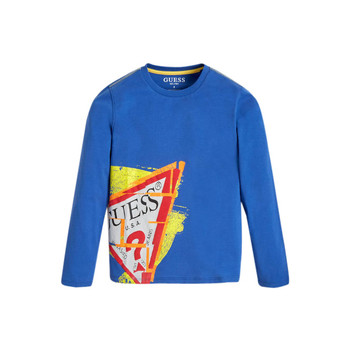 Se Langærmede T-shirts Guess  LISTIN ved Spartoo