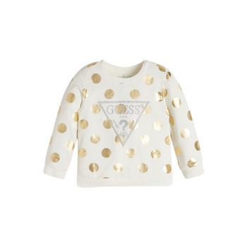 textil Pige Sweatshirts Guess KUBLO Hvid