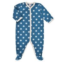 textil Dreng Pyjamas / Natskjorte Petit Bateau SOLARIE Blå / Hvid