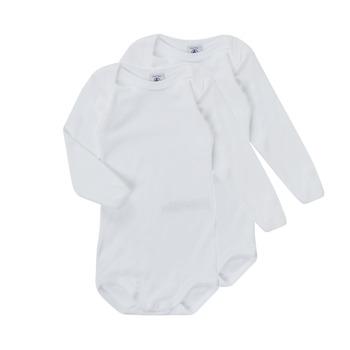 textil Børn Pyjamas / Natskjorte Petit Bateau TESSA Hvid