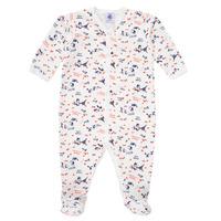 textil Pige Pyjamas / Natskjorte Petit Bateau LEA Flerfarvet