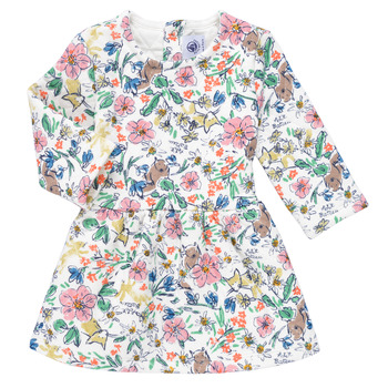 textil Pige Korte kjoler Petit Bateau ROPPAL Flerfarvet