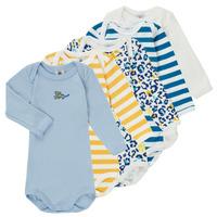 textil Dreng Pyjamas / Natskjorte Petit Bateau FEDDY Flerfarvet