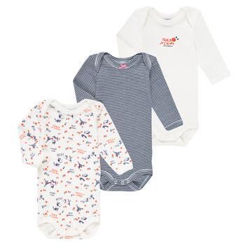 textil Pige Pyjamas / Natskjorte Petit Bateau FERY Flerfarvet