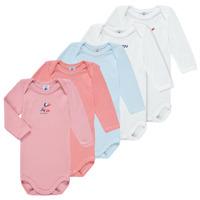 textil Pige Pyjamas / Natskjorte Petit Bateau PUNIKA Flerfarvet