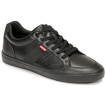Sko Herre Lave sneakers Levi's TURNER 2.0 Sort
