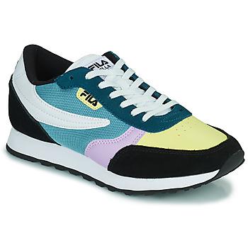 Sko Dame Lave sneakers Fila ORBIT CB LOW Blå / Sort