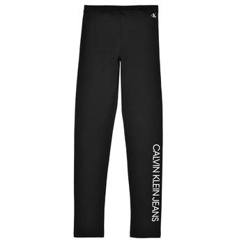 textil Pige Leggings Calvin Klein Jeans MERCA Sort