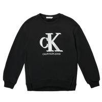 textil Pige Sweatshirts Calvin Klein Jeans POLLI Sort