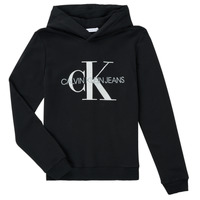 textil Børn Sweatshirts Calvin Klein Jeans TRINIDA Sort