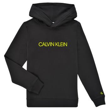 textil Børn Sweatshirts Calvin Klein Jeans ZOPLINA Sort