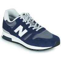 Sko Herre Lave sneakers New Balance 565 Blå / Grå