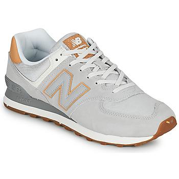Sko Herre Lave sneakers New Balance 574 Grå / Beige