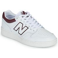 Sko Herre Lave sneakers New Balance 480 Hvid / Bordeaux