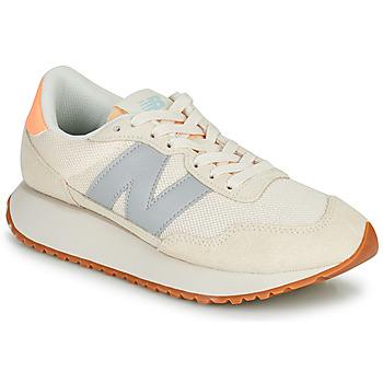 Sko Dame Lave sneakers New Balance 237 Beige